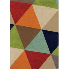 Mara Bold Triangles Rug
