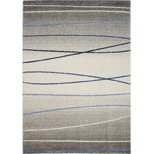 <strong>Kalora</strong> Ashbury Blue Stripes Rug