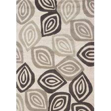 Malabar Textured Leaves Rug