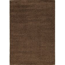 <strong>Kalora</strong> Shaggy Brown Solid Rug