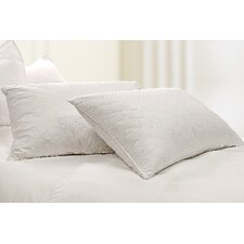 233 Thread Count Diamond Quilted Feather Jumbo Pillow (Set of 2)
