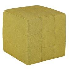 Braque Citron Cube Ottoman