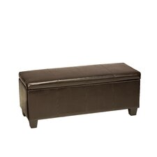 <strong>Cortesi Home</strong> Nives Storage Ottoman