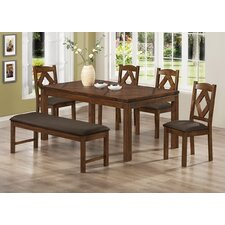 <strong>Milton Green Star</strong> Sevilla 6 Piece Dining Set