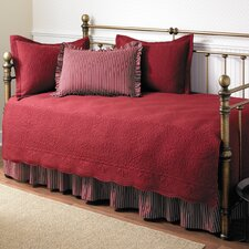 Daybed 5 Piece Twin Trellis Quilt Set