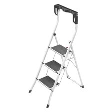 Safety Plus 3-Step Step Ladder