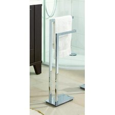 Volterra 36 cm Towel Stand in Chrome
