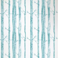 <strong>Astek Wallcovering Inc.</strong> Aspen Trees Floral Botanical Tiles Wallpaper