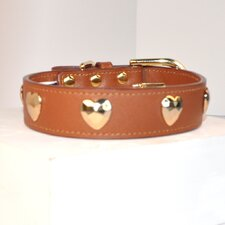 Bubba Dog Classic Heart Collar