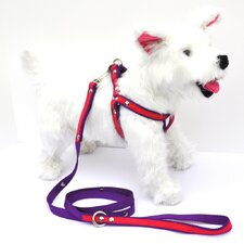 <strong>Kane and Couture</strong> City Pooch Leather / Nylon Harness