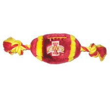 NCAA Plush Football Dog Toy