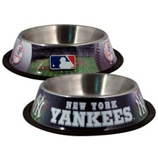 <strong>Doggie Nation</strong> MLB Dog Bowl