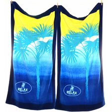 Ombre Palm Beach Towel (Set of 2)