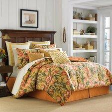 Tropical Lily 4 Piece Comforter Set