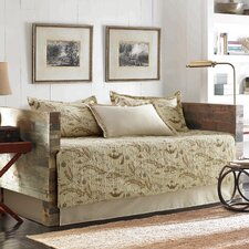 Map 5 Piece Quilted Daybed Cover Set