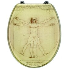 Da Vinci Toilet Seat in Transparent