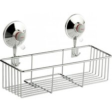 Basket in Chrome with Suction Cups