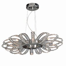 Brilliance 8 Light Crystal Chandelier