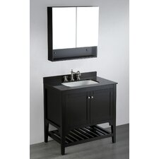 "Contemporary 33"" Single Vanity Set"