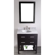 <strong>Bosconi</strong> Contemporary 30'' Single Vanity Set