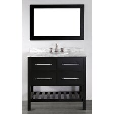 "Contemporary 36"" Single Vanity Set"