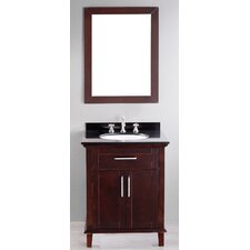 "Contemporary 26"" Single Vanity Set"