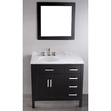 Contemporary 36'' Single Vanity Set