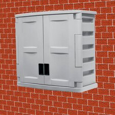 Indoor Storage 2-Door Wall Cabinet