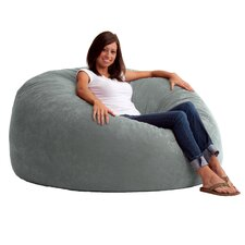 Fuf Foam Filled Lounger Bean Bag Chair