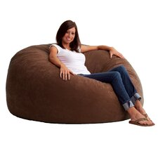 Fuf Foam Filled Lounger Bean Bag Chair