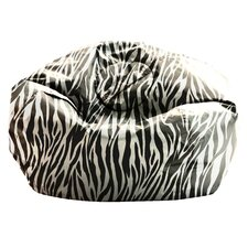 Big Joe SmartMax Zebra Bean Bag Lounger
