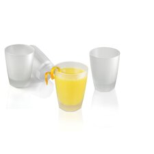 Arosse by Nuance 25 cl Frosted Glass (Set of 4)