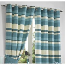 Ritz Lined Eyelet Curtains