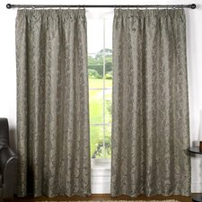 Monaco Lined Tape Curtain Set (Set of 2)