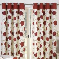 Penny Lined Eyelet Curtain Set