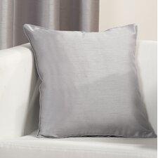 Faux Silk - Eyelet Cushion
