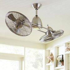 Fredrickson Ceiling Fan, Silver