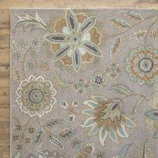 Jasmine Rug, Stone & Parchment