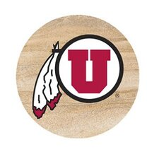 University of Utah Collegiate Coaster (Set of 4)