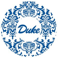 Duke University Swirls Collegiate Coaster (Set of 4)