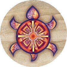 Indian Turtle Coaster (Set of 4)