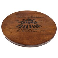 "13.65"" Bourgogne Aligote Wine Cask Cheese Board"