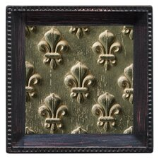 Fleur de Lis Embossed Ambiance Coaster Set (Set of 4)
