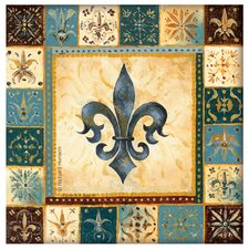 Fleur de Lis I Occasions Coasters Set (Set of 4)