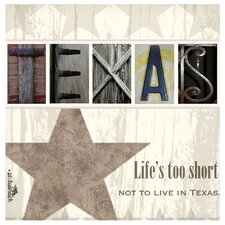 Life's Too Short Occasions Coasters Set (Set of 4)