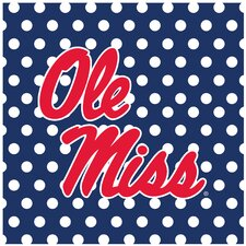 University of Mississippi Square Occasions Trivet