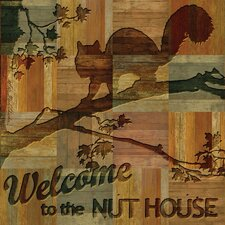 Welcome to the Nut House Occasions Coasters Set (Set of 4)