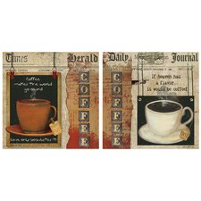 2 Piece Coffee Heaven-Love Occasions Coasters Set