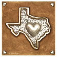 Texas Love II Occasions Coasters Set (Set of 4)