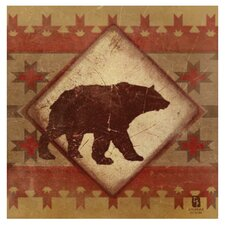 Lodge Bear Occasions Coasters Set (Set of 4)